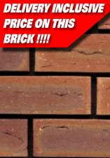 Cheap Bricks : Sherwood Blaze Ibstock Delivery Inclusive Brick