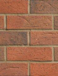 Cheap Bricks : Cadeby Red Multi Hanson HAN04 Brick