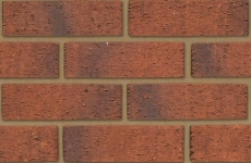 Ibstock Anglian Red Multi Rustic 65mm Rustic Bricks