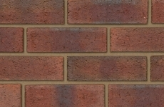 Ibstock New Burntwood Red Rustic 65mm Rustic Bricks