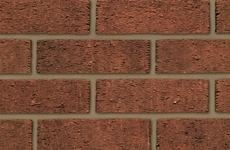 Ibstock Anglian Red Rustic 65mm Rustic Bricks