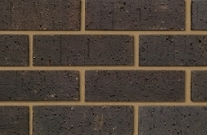 Ibstock Himley Ebony Black 65mm Dragfaced Bricks
