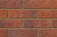 Ibstock Bristol Mixed Red 65mm Dragfaced Bricks