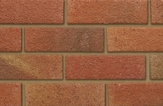 Ibstock Bristol Orange Blend 65mm Dragfaced Bricks