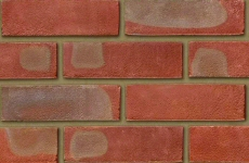 Ibstock Leicester Multi Red Stock 65mm Sandfaced Bricks
