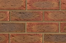 Ibstock Hardwicke Lenton Dark Multi 65mm Rolled Bricks