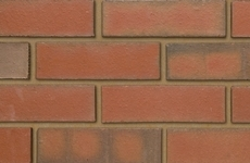 Ibstock Multi Red Smooth 65mm Smooth Bricks