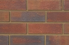 Ibstock Alderley Burgundy 65mm Rolled Bricks
