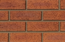 Ibstock Hearted Red Rustic 65mm Dragfaced Bricks