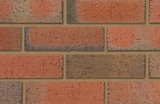 Ibstock Trafford Multi Rustic 65mm Dragfaced Bricks