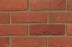 Ibstock Swanage Handmade Heather Red 65mm Sandcreased Bricks