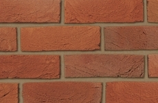 Ibstock Swanage Handmade Light Red Multi 65mm Sandcreased Bricks