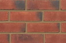 Ibstock Leicester Weathered Red 65mm Sandfaced Bricks