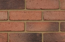 Ibstock Arden Weathered Red 65mm Sandfaced Bricks