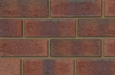 Ibstock New Burntwood Red Rustic 73mm Rustic Bricks