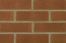 Hanson Nottingham Red 65mm Rustic Bricks