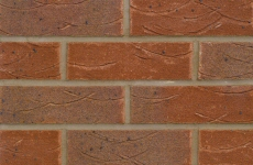 Forterra Old English Brindle Red 65mm Sandfaced Bricks