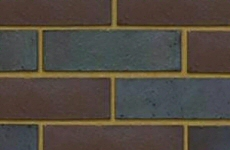 Ibstock Blue Brown Mixed Commons 65mm Smooth Bricks