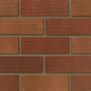 Ibstock Tradesman Rustic 65mm Red Rolled Brick