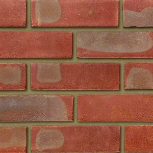 Ibstock Leicester Multi Red Stock 65mm Red Multi Sandfaced Brick