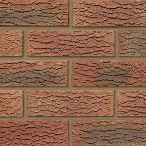 Ibstock Cavendish Dorket Fireglow 65mm Red Rustic Brick