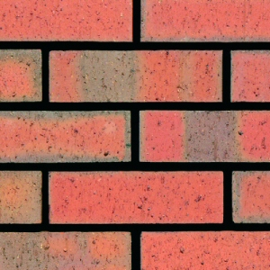 Ibstock Etruria Mixture 65mm Red Dragfaced Brick