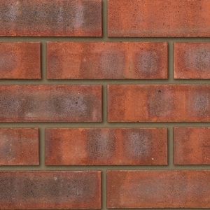 Ibstock Reigate Purple 65mm Red Sandfaced Brick