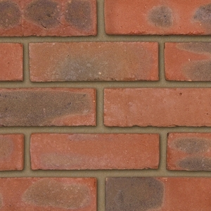Ibstock Chailey Rustic Stock 65mm Red Sandfaced Brick