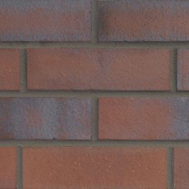 Hanson Dark Multi Smooth 73mm brick