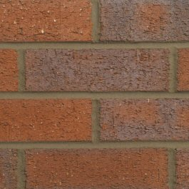 Hanson Dark Multi Rustic 73mm brick